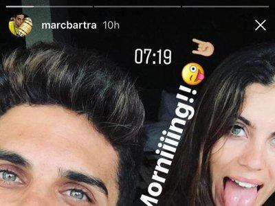 Y al fin Marc Bartra y Melissa Jiménez se fueron de luna de miel