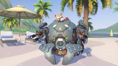 Así es Wrecking Ball, el próximo tanque de Overwatch que quiere ser tu nuevo héroe favorito