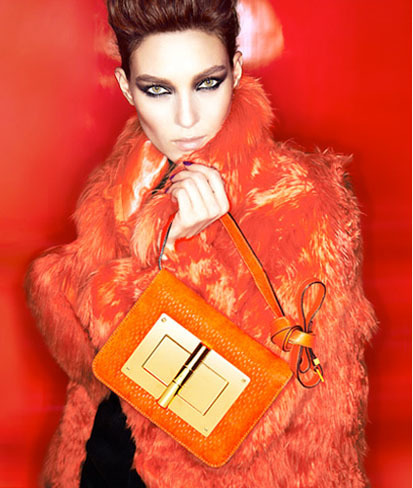 El Natalia Turnlock Bag de Tom Ford