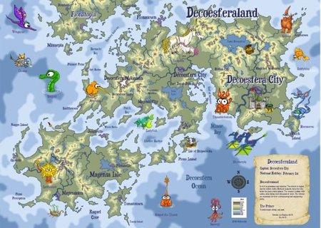 Personaliza tu mapa en Kidlandia