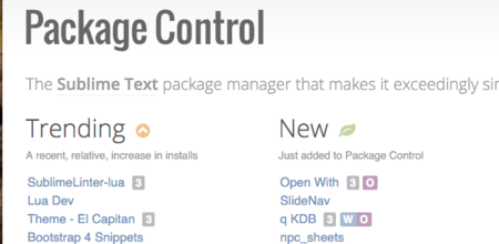 Packagecontrol