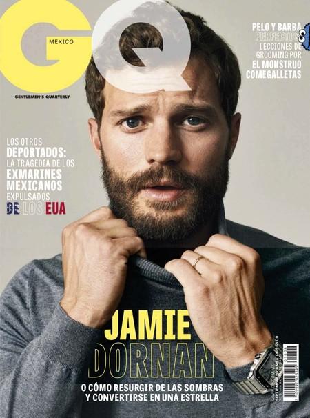 Jamie Dornan Cover Editorail Gq Mexico Magazine 01