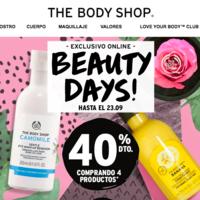 En The Body Shop tienes hasta un 40% de descuento con este cupón