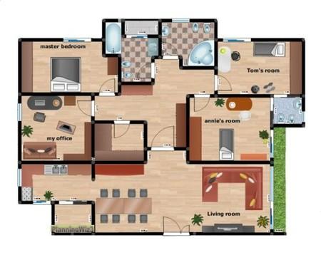 Referencias para crear planos online i for Plano habitacion online