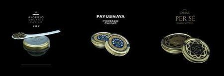 Variedades de caviar
