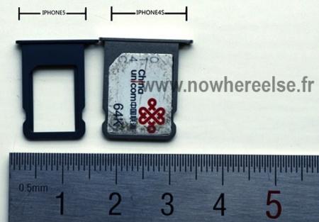 La bandeja nano-SIM del próximo iPhone podría ser así