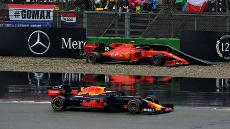 Verstappen Leclerc Alemania F1 2019