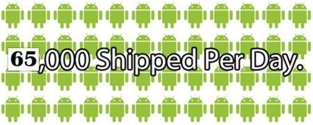 Eric Schmidt: ponemos en el mercado 65.000 teléfonos Android al día