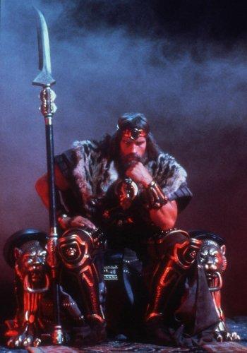 Arnold Schwarzenegger es Conan