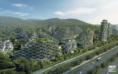 Stefano Boeri Architetti Liuzhou Forest City View 2