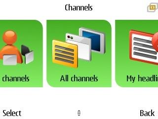 Noticias en el móvil con Nokia Channels