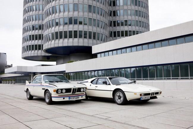 BMW 3.0 CSL y BMW M1