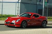 ¿Un Alfa 8C Competizione GTA rueda por Nurburgring?