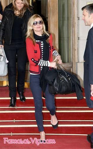 Kate Moss en París