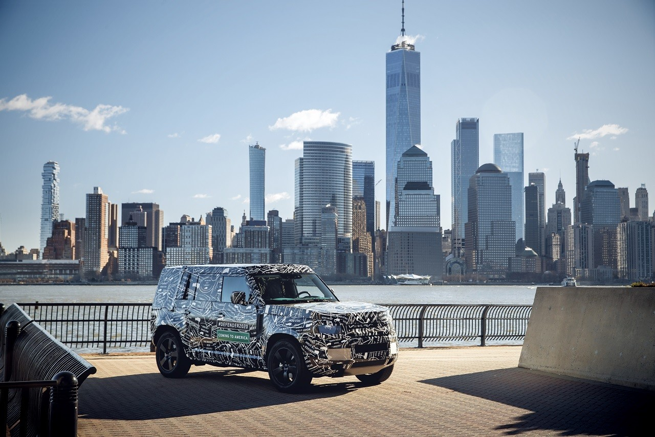 Foto de Land Rover Defender 2020 primeras fotos oficiales (14/24)