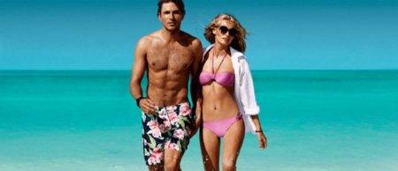 Arena, sol y... la campaña baño de H&M Primavera-Verano 2011