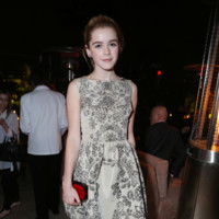 Kiernan Shipka Red Valentino Look