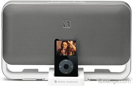 Altec M602, otro precioso altavoz para el iPod