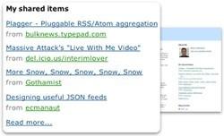 Compartiendo las noticias de tus fuentes de Google Reader en Blogger