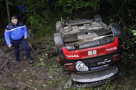 Sébastien Loeb: un vuelco que no empaña una década de éxitos