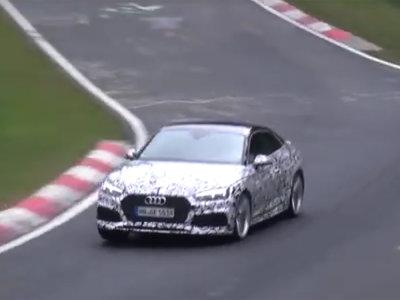 Escucha el rugir del futuro Audi RS5 en este vídeo