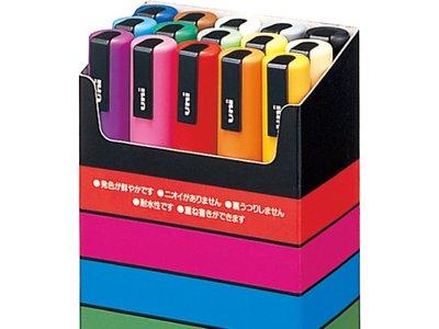 Chollo: set de 15 rotuladores Uni-Ball PC5M15 Uni Posca por 24,60 euros en Amazon