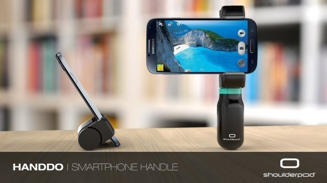 """Shoulderpod """"sueña"""" con dos accesorios bien diseñados para smartphones"""