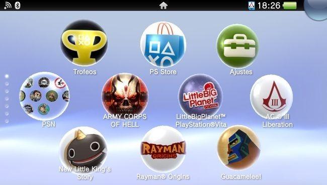 PS Vita Firmware 2.10