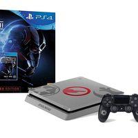 La Edición Limitada Star Wars de la PS4 Slim de 1 TB con el juego Star Wars Battlefront 2, en eBay te sale por sólo 329,95 euros
