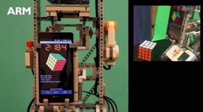 El nuevo Huawei Ascend P6 resuelve un cubo de Rubik 4x4x4 en 50 movimientos