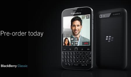 Blackberry Classic Pre Order