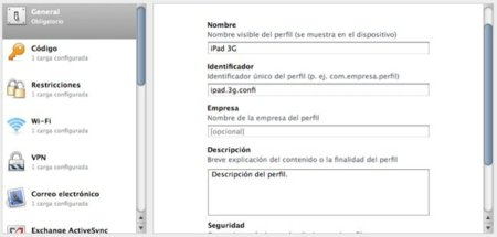 Configurador iPhone
