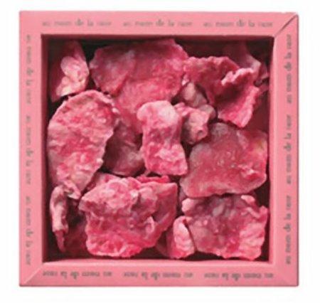 Pétalos de rosa cristalizados