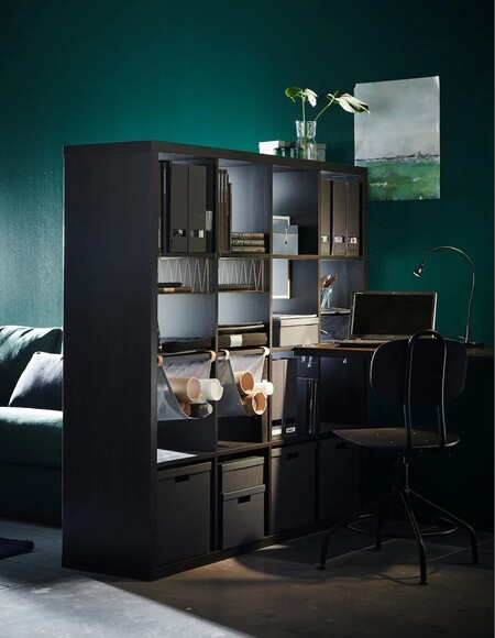 Una Estanteria Ikea Kallax En Ne