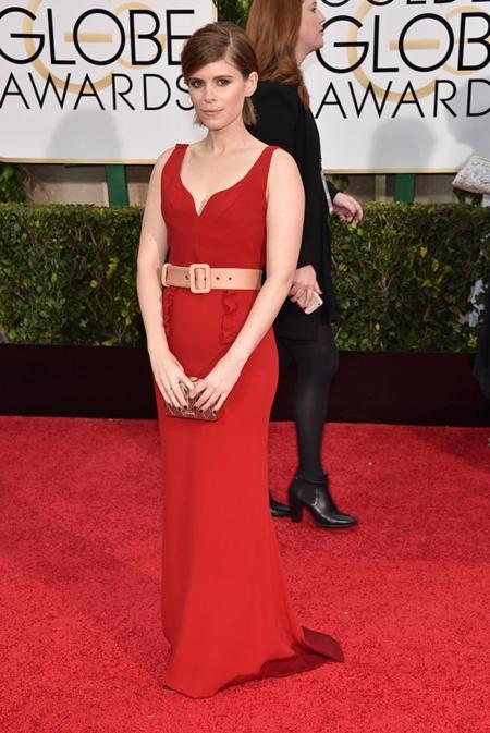 Globos De Oro 2015 Kate Mara Miu Miu