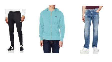 Chollos en tallas sueltas de pantalones y sudaderas de marcas como Pepe Jeans, Nike, Adidas o Jack & Jones en Amazon