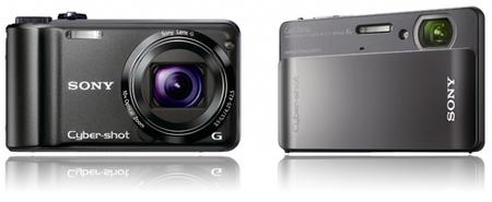 Sony presenta nuevas compactas: la H55 y la TX5