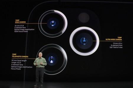 Sistema de cámaras iPhone 11 Pro y Pro Max