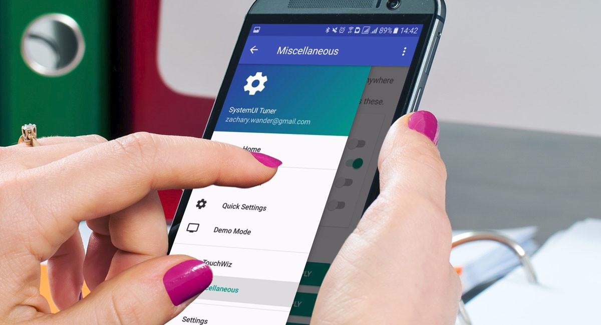Cómo usar la app SystemUI Tuner para modificar la interfaz