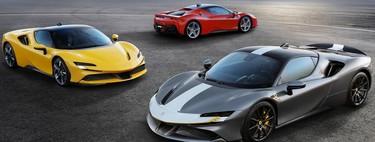 El primer coche eléctrico de Ferrari podría ser un biplaza con cuatro motores eléctricos