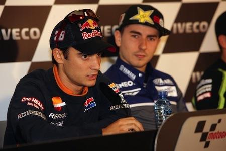 MotoGP Aragón 2012: Entrenamientos libres pasados por agua