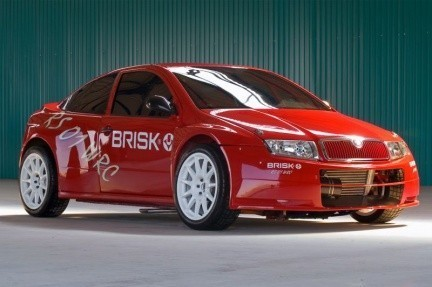 Brisk RS 01 WRC: Skoda Fabia para rallies