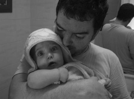 La foto de tu bebé: Paula con papá