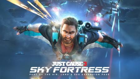 Rico Rodríguez fija para el 8 de marzo el día que invadirá Sky Fortress en Just Cause 3