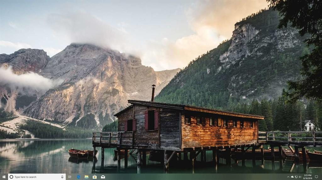 Cómo colorear, hacer transparente o translúcida la barra de tareas de Windows 10