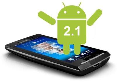 Comienza oficialmente la actualización de la familia Sony Xperia X10 a Android 2.1