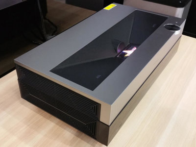 Hisense muestra su nuevo proyector de tiro corto 4K en la IFA
