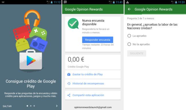 Google Belohnungen