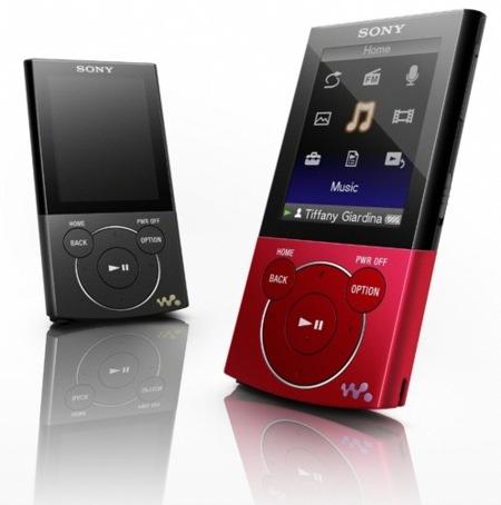 Sony Walkman E Series, también con reproducción de vídeo