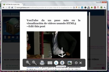 Safari Reader en Firefox y Chrome
